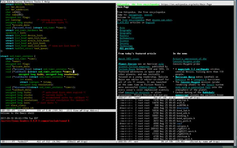 ویرایشگر GNU Emacs