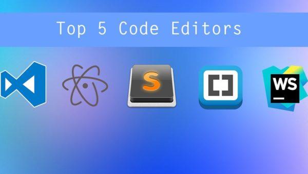 بهترین ویرایشگرهای کد