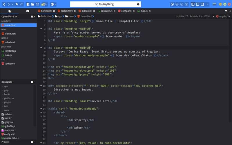 ویرایشگر Komodo Edit