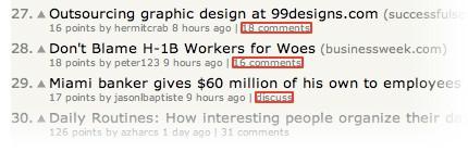 لینک های یک سایت خبری
