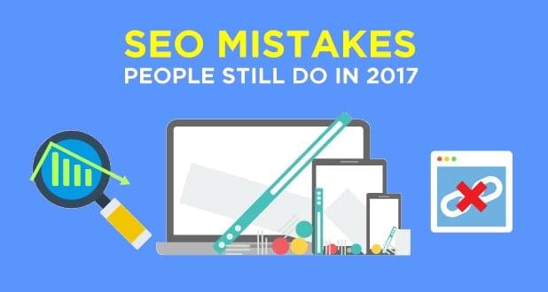 بزرگترین اشتباهات رایج در سئو وب سایت